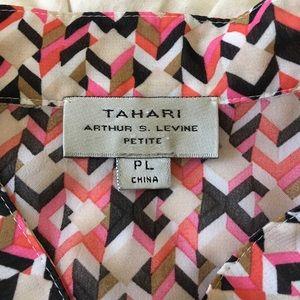 Tahari Arthur S Levine Tops - Tahari Arthur Levine Sleeveless Petite Large